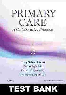 Primary Care A Collaborative Practice 5th Edition Buttaro TEST BANK