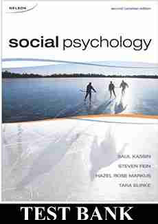 Social Psychology 2nd CANADIAN Edition Kassin Test Bank