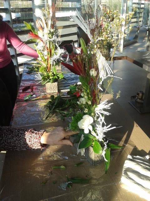 """Atelier art floral 2017 """"Promesses"""""""