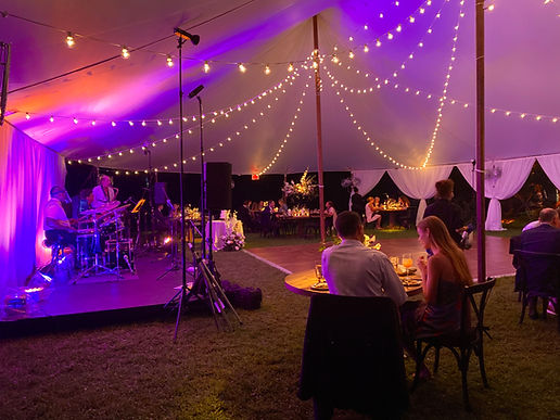 Micro Tent Wedding