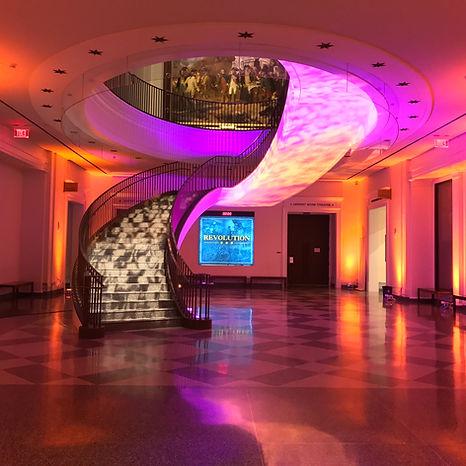 Museum of American revolution weddings