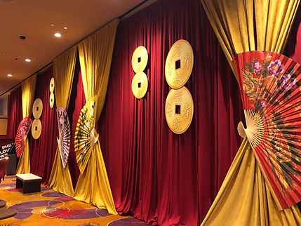 Asian Theme event decor