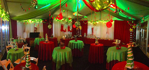 Whoville themed holiday event