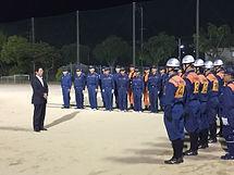 防災の要、消防団の皆様と.JPG