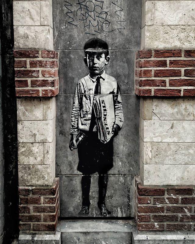 Street art. Brussels, Belgium