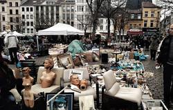 Flea Market in brussels.