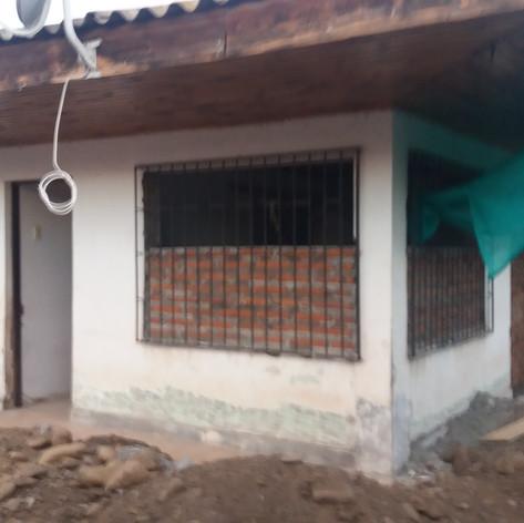 casa en reconstrucción