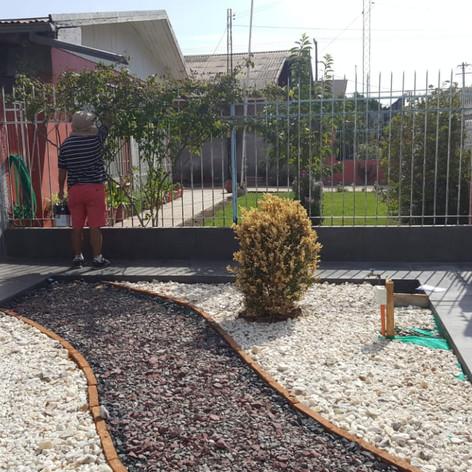 preparación jardín