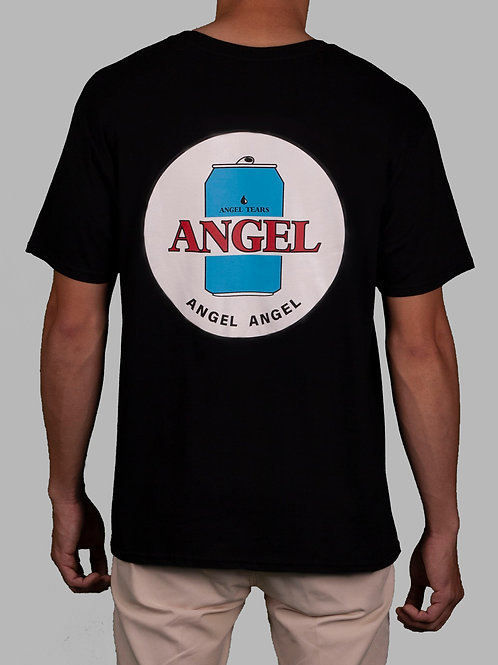 """ANGEL TEARS"" Tee in Black"