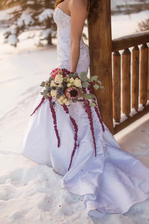 midwest Wisconsin winter elopement