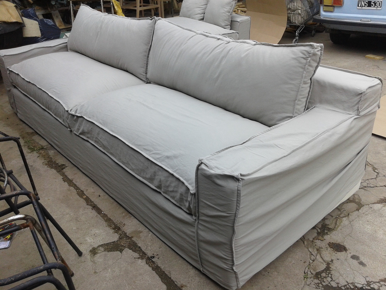 Sofa desenfundable en Lino