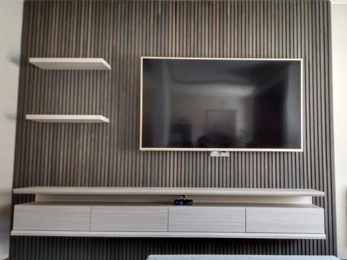 Mueble tv con fonde de brisse