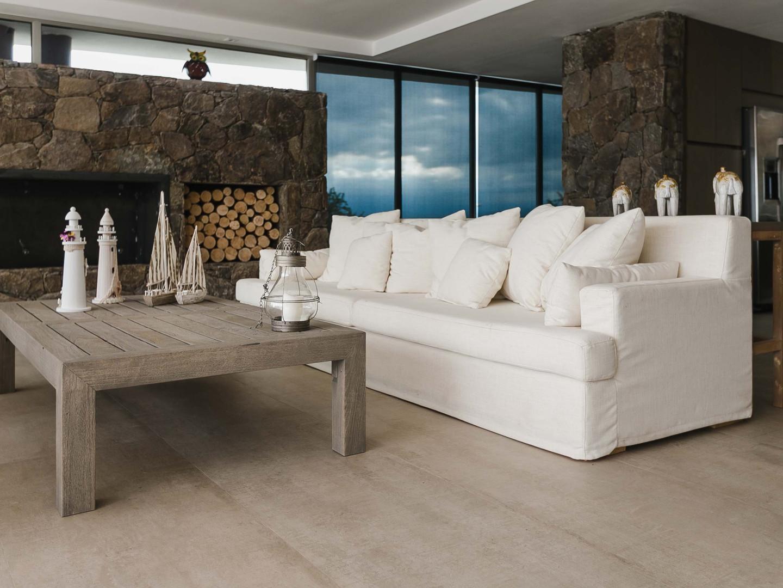 Sofa desenfundable en Lino, antimanchas.