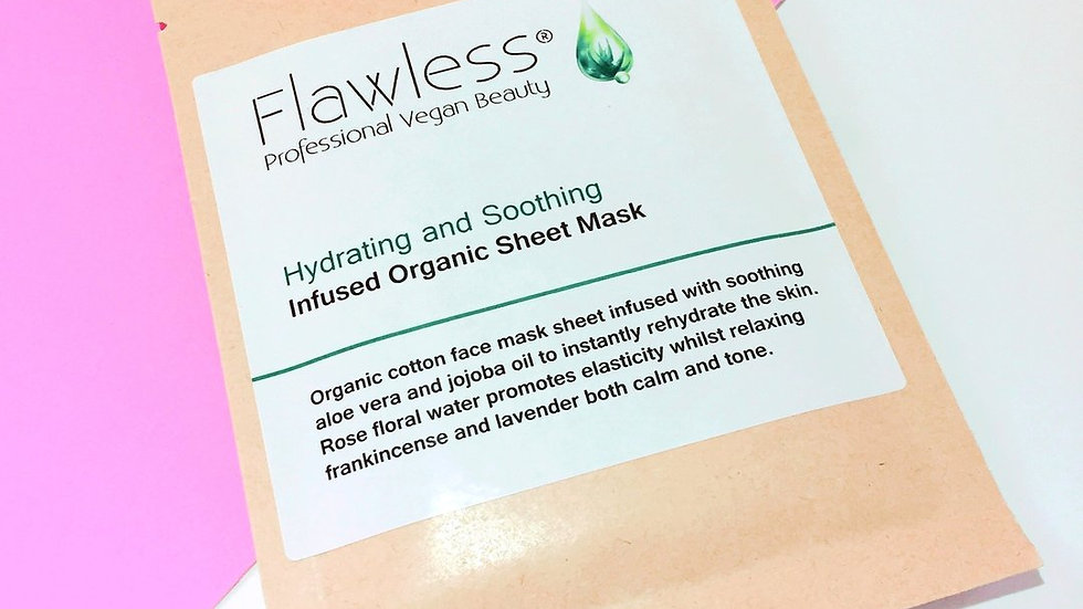 Hydrating & Soothing Face Mask Sheet