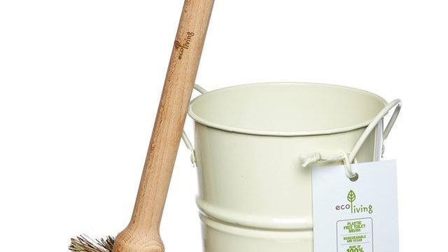Toilet Brush & Holder Set - Plastic Free FSC 100%