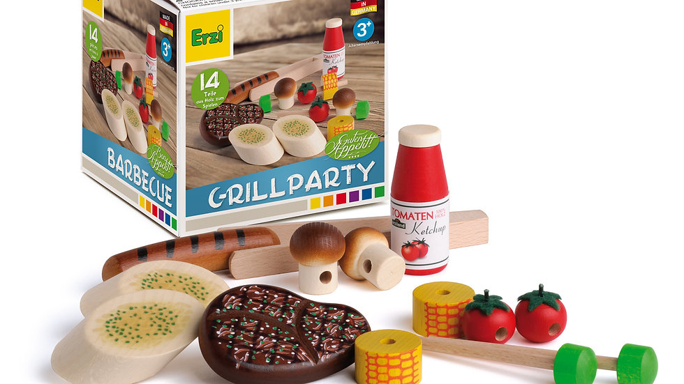Assortment BBQ Toy Set