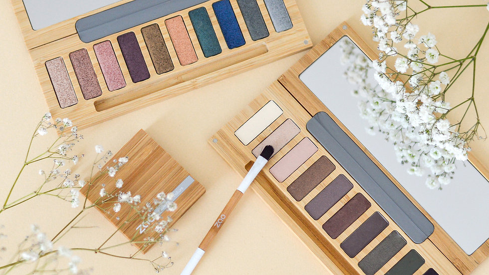 Zao Pearly & Matt Eyeshadow Palette
