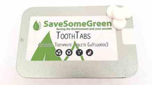 Toothtabs 62 fluoride or fluoride free