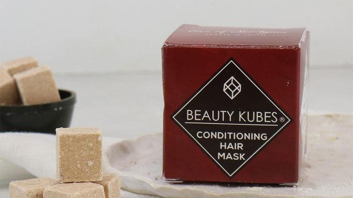PLASTIC FREE SOLID HAIR CONDITIONER KUBES