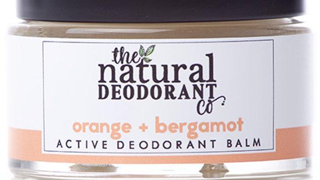 Active Deodorant Balm Orange + Bergamot 55g