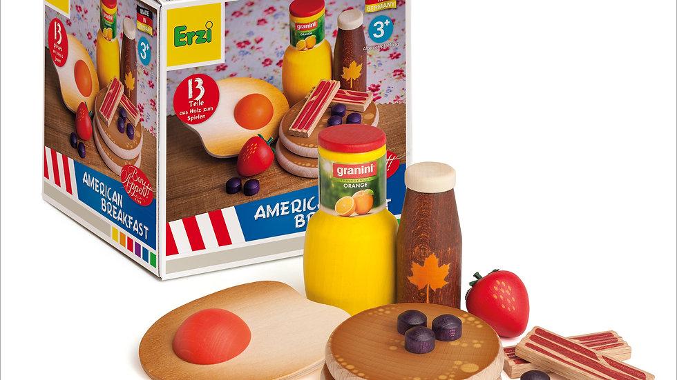 American Breakfast Toy Set