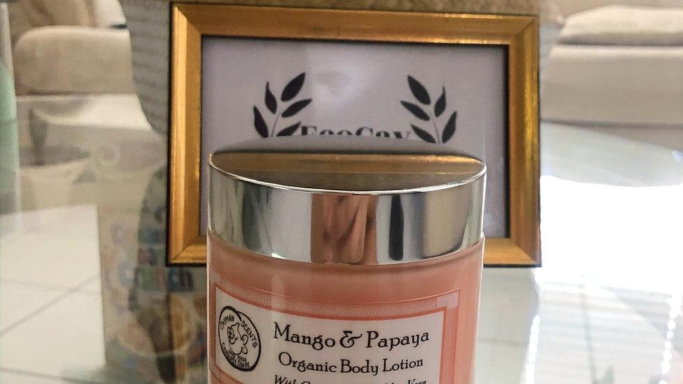 Mango & Papaya Organic Body Lotion