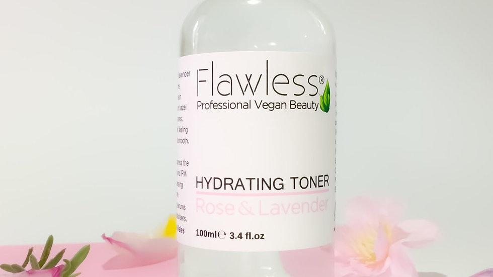 Hydrating Toner - Rose & Lavender 100ml