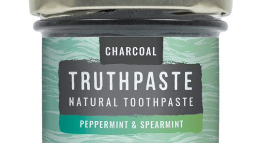 Toothpaste Charcoal: Peppermint & Spearmint (100ml)