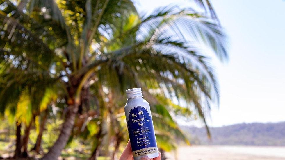 Gold Sands Coconut & Carrot Tanning Oil 100ml