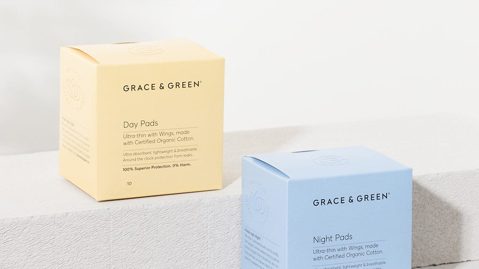 Organic Cotton Pads 10 pack