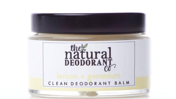 Clean Deodorant Balm Lemon & Geranium 55g