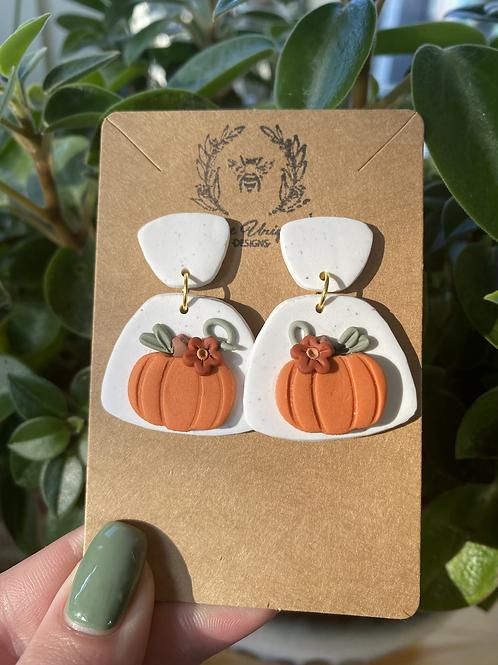 Pumpkin Dangles