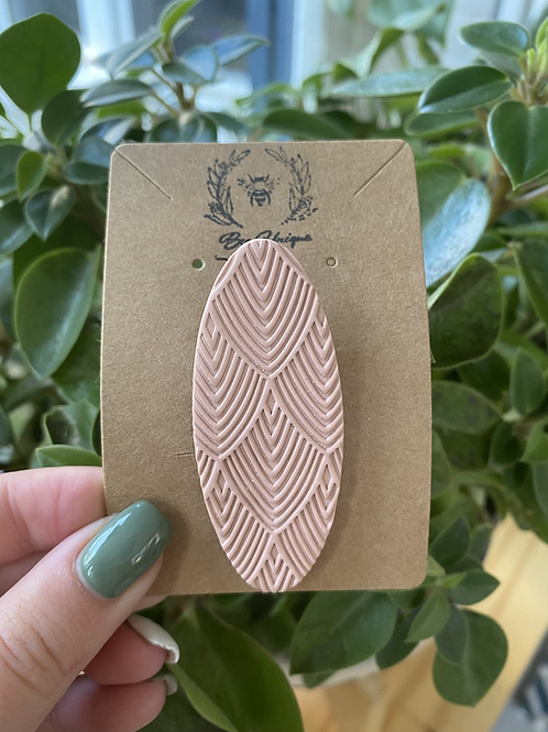 Imprint Pink Barette