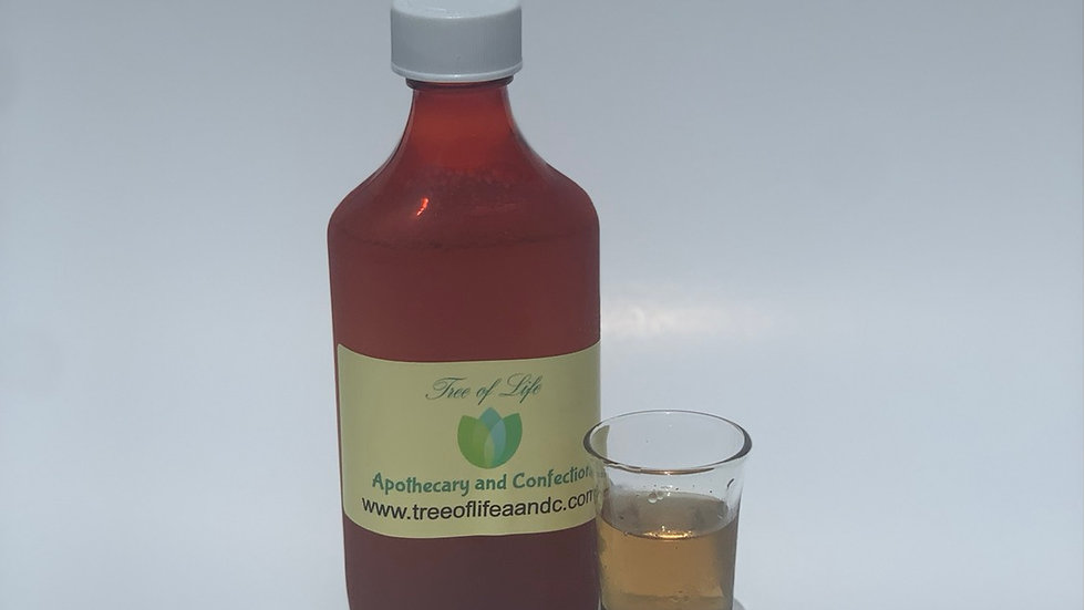 Herbal Cough Syrup and Sore Throat Relief