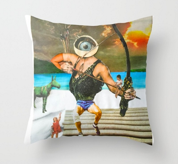 Eye Hunter  - Pillow Cover