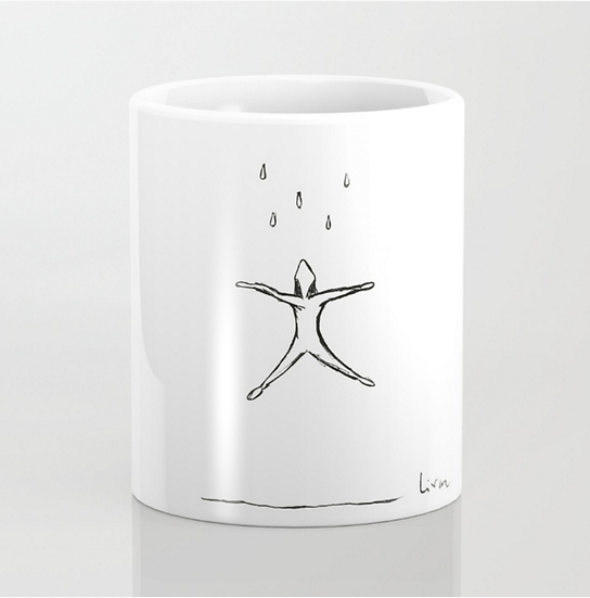 Raining - Mug