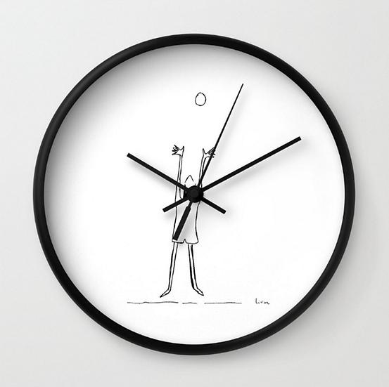Reaching - Wall Clock