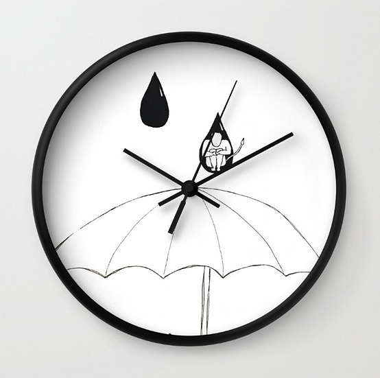 In A Drop - Wall Clock