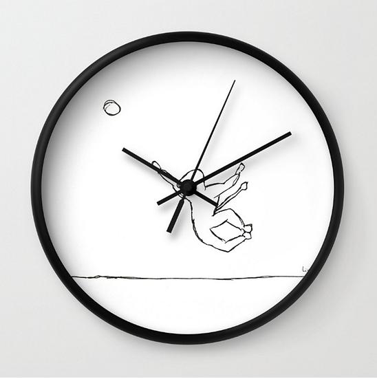 Jump - Wall Clock