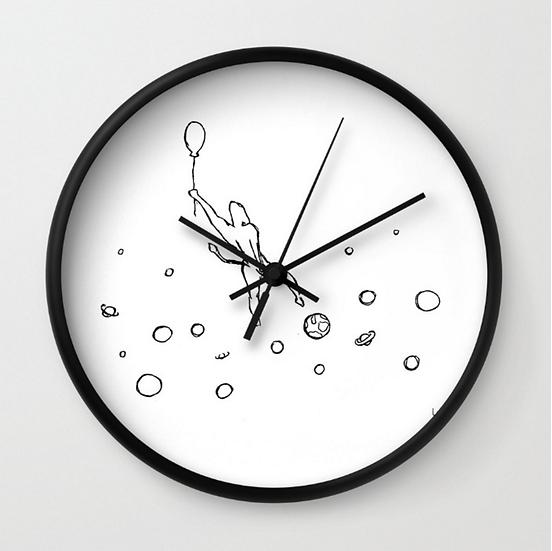 Galaxy - Wall Clock