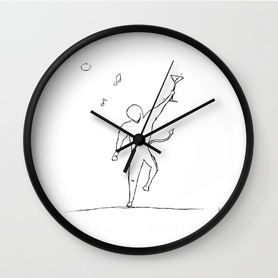 Party - Wall Clock