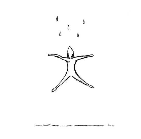 Raining - Art print
