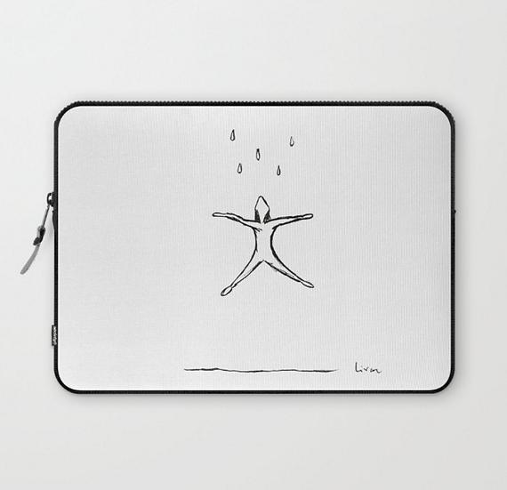 Raining - Laptop Sleeve