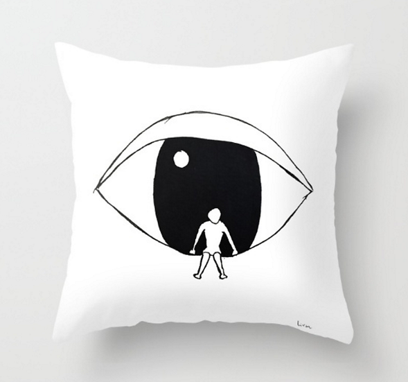 Watching - Pillow Cover