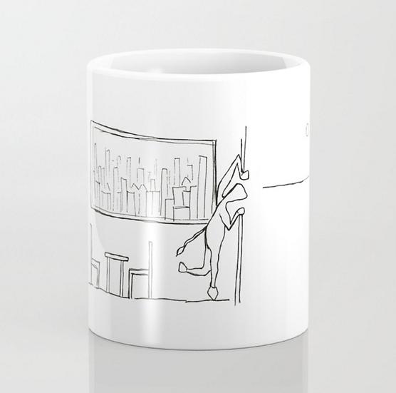 Looking Outside  - Mug