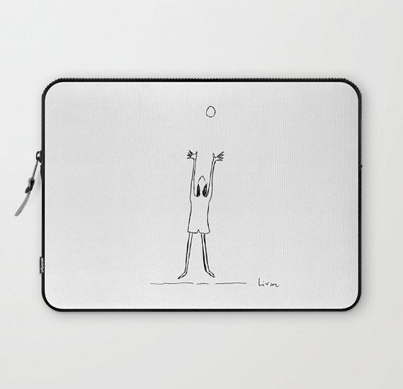 Reaching - Laptop Sleeve
