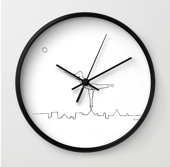Urban Skyline - Wall Clock