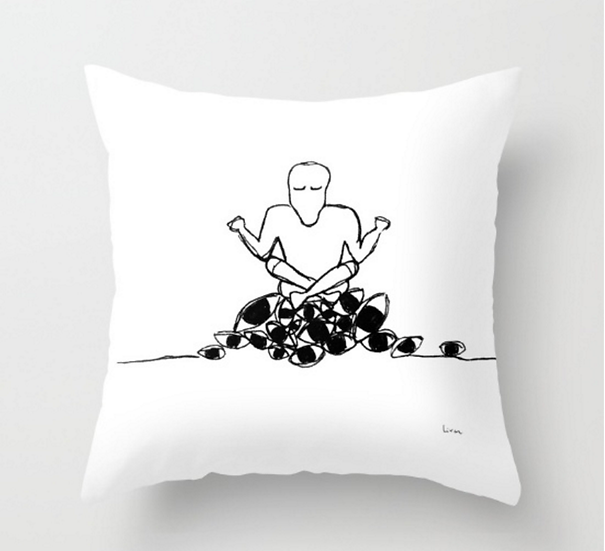 Seeing Within - Pillow Cover