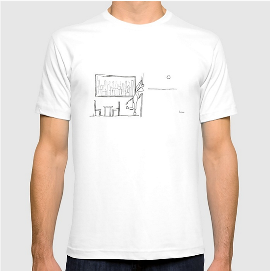 Looking Outside - T SHIRT