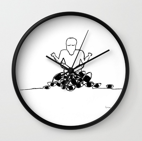 Seeing Within - Wall Clock